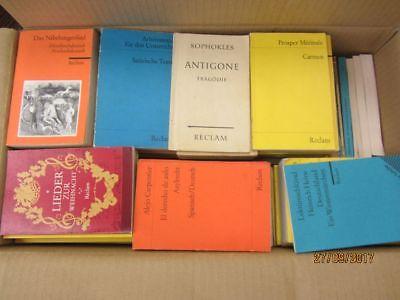 156 Bücher Hefte Reclam Verlag Reclamhefte Reclam Hefte