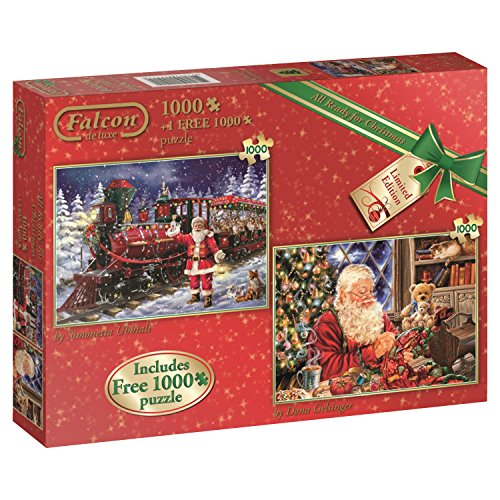 All Ready for Christmas - Puzzle 2x 1000 Teile