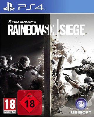Rainbow Six Siege - PS4 Playstation 4 Spiel - NEU OVP