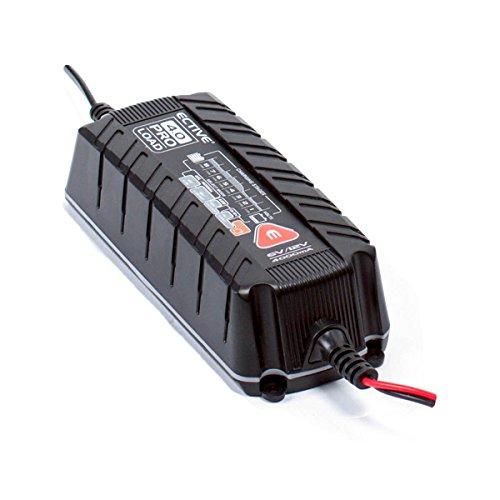 ECTIVE PROLOAD   12V Batterieladegerät   2 Varianten: 4A und 8A   Autobatterie-Ladegerät und Motorradbatterie-Ladegerät von 5 - 105 Ah   Batterie Ladegerät für Motorrad und Auto, PKW-Ladegerät, KFZ-Ladegerät