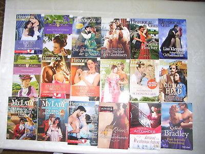 13 Historical, Historische Liebesromane (Julia Quinn, Celeste Bradley) 22 Romane