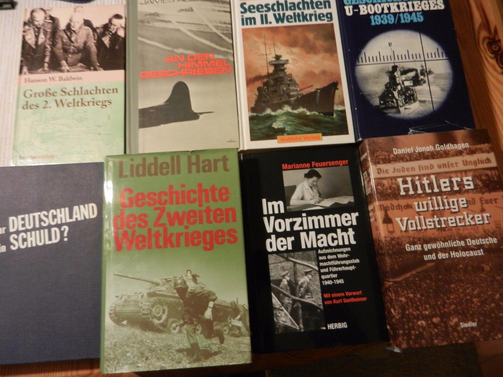 17 Bücher Weltkrieg - Marine Luftwaffe Uniformen Heimat 3. Reich