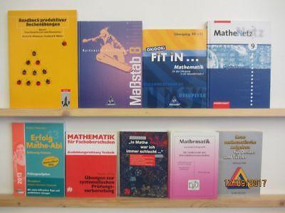 41 Bücher Mathematik Mathe Rechnen Schulbücher Fachbücher
