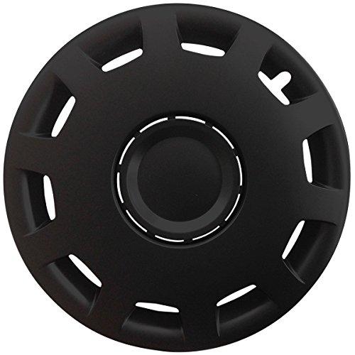 (Farbe & Größe wählbar) 16 Zoll Radkappen GRANIT Schwarz passend für fast alle gängingen Fahrzeuge (universal)