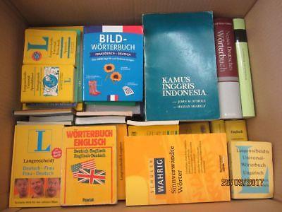 61 Bücher Wörterbücher verschiedene Sprachen verschiedene Fachthemen