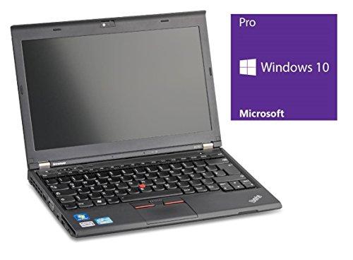 Lenovo Thinkpad X230 Notebook   12.5 Zoll Display   Intel Core i5-3320M @ 2,6 GHz   4 GB DDR3 RAM   320GB HDD   ohne Laufwerk   Windows 10 Pro vorinstalliert (Zertifiziert und Generalüberholt)