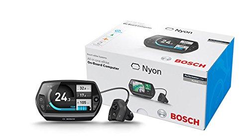 Bosch Nyon Inkl. Halter Nachrüst-Kit, Schwarz, 8GB Speicherkapazität