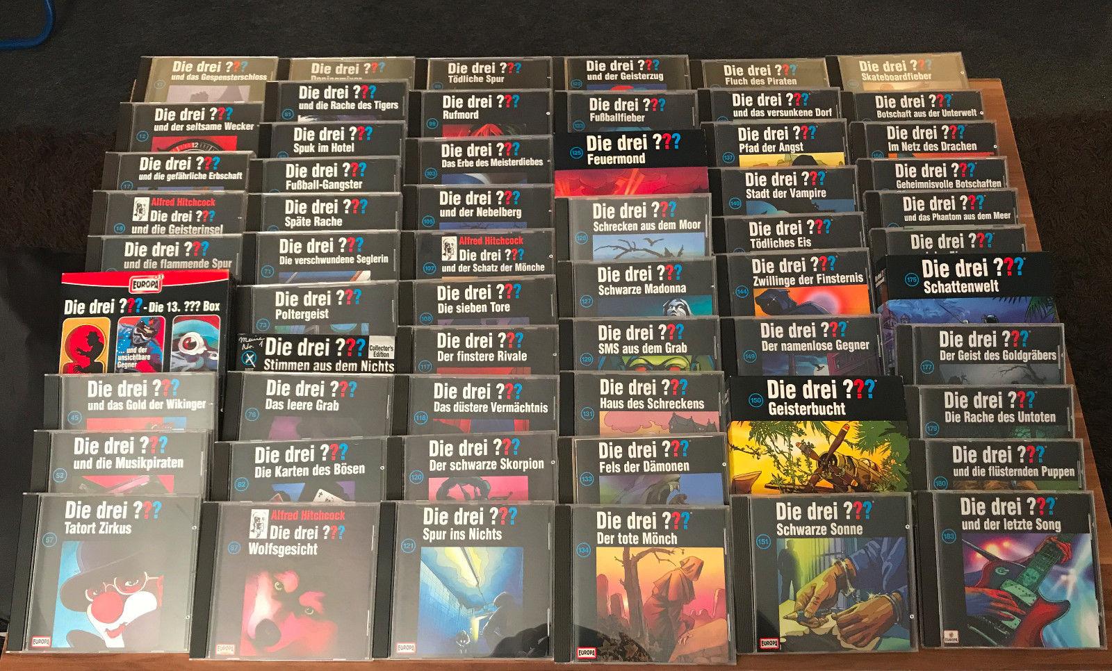 Die Drei Fragezeichen CD SAMMLUNG mit 67 CDs  Konvolut Die drei ???