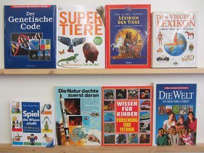 27 Bücher Kindersachbücher Jugendsachbücher Natur Technik Experimente