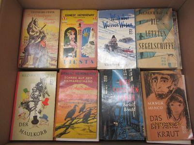 119 Bücher Taschenbücher rororo Verlag bis Seriennummer 8000