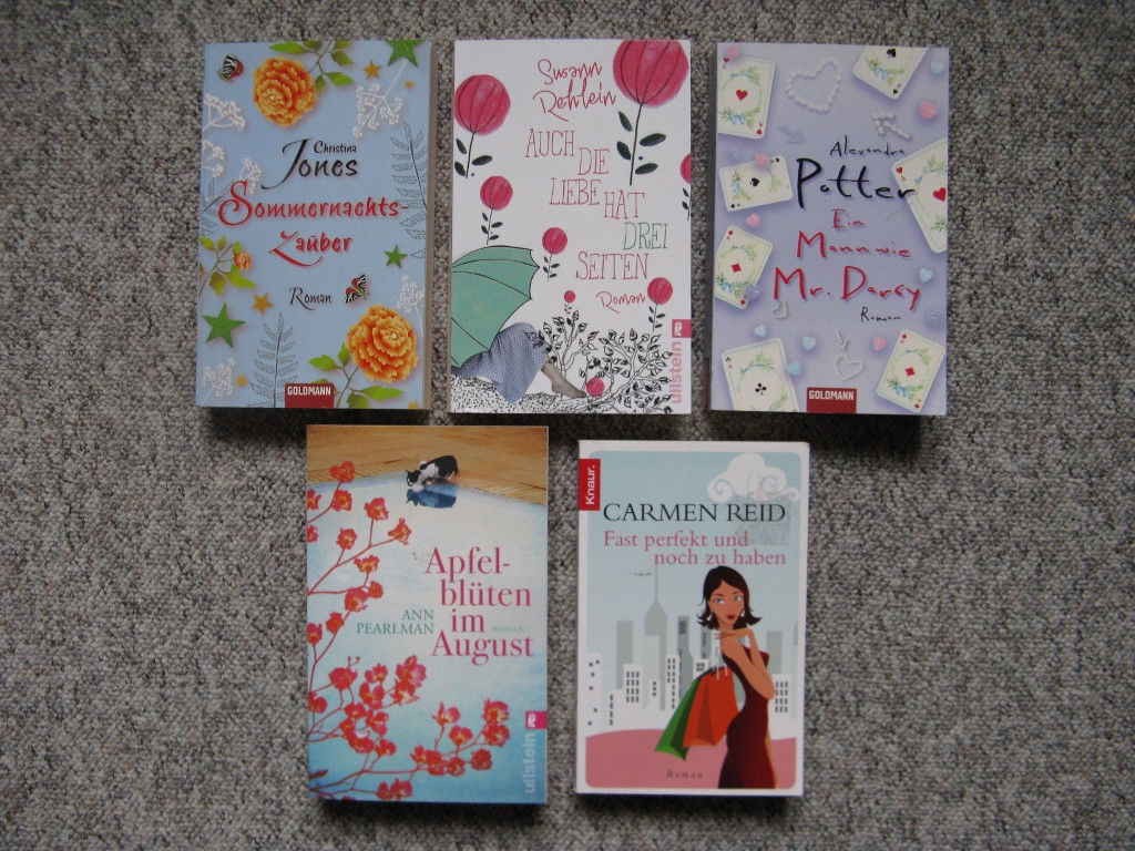 Bücherpaket 6 - Frauenromane