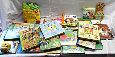 27 Bücher Bücherpaket Kleinkinder Bilderbücher Stoffbuch Haba Klappbuch uva Look