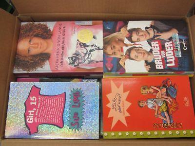 42 Bücher Jugendromane Jugendbücher junge Leser für Mädchen  Top Titel Paket 1