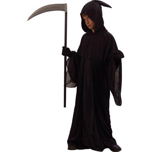 Grim Reaper Jungen Halloween / Karnival Kostüm Large 8/10 Years - 134-146cm