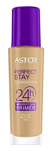 Astor Perfect Stay 24h Make Up plus Perfect Skin Primer, Farbe 302, 30 ml