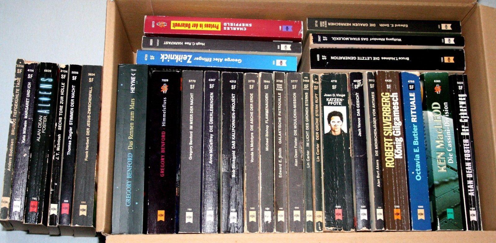 30 Heyne-Science Fiction Bücher