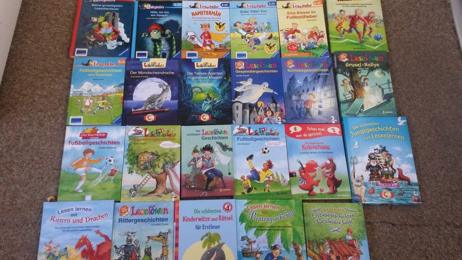 Kinder Lesebücher - Paket - 23 Stück - Verschiedene Lesestufen - Top!