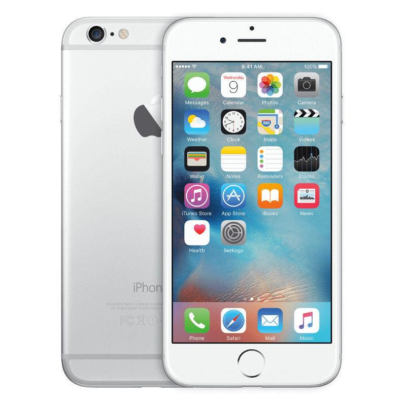Apple iPhone 6 - 64GB - Silber (Ohne Simlock) Smartphone