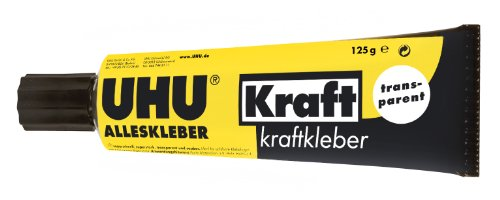 Uhu 45065 - Alleskleber Kraft, 125 g in Tube, transparent