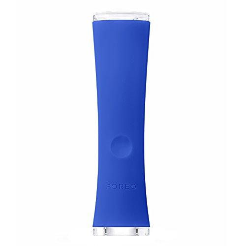 FOREO ESPADA Blaulichttherapiegerät für die Akne-Behandlung zuhause, entfernt Pickel, Akne und Mitesser mit LED Blaulicht, 2-Jahres-Garantie & 10-Jahres-Qualitätsgarantie, Cobalt Blue