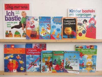 100 Bücher Hefte Basteln Bastelbücher Windowcolor Origami Naturbasteln