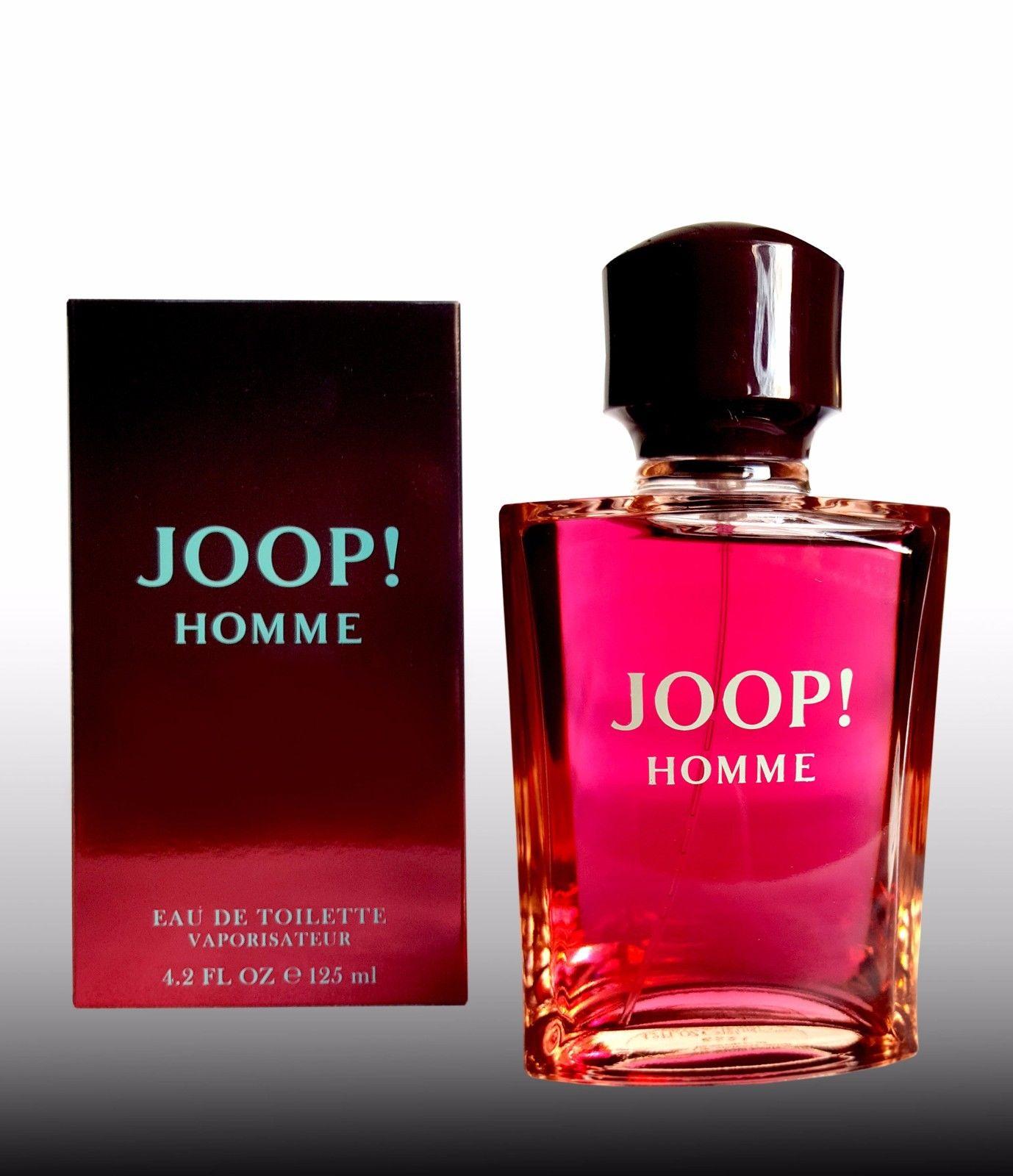 Joop Homme  EDT/125 ml for Men EU WARE neu & Originalverpackt / Vaporisateur