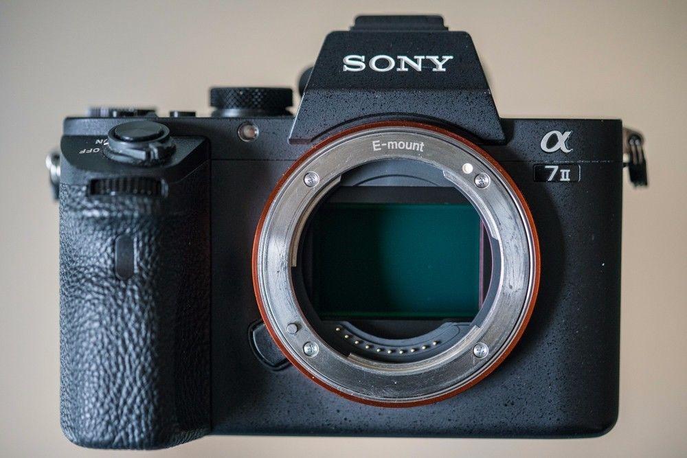 Sony Alpha ILCE-7M2 24.3 MP Digitalkamera - Schwarz (Nur Gehäuse) OVP