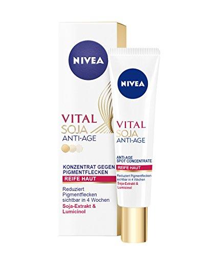 Nivea Vital Soja Anti-Age Konzentrat gegen Pigmentflecken, 1er Pack (1 x 40 ml)