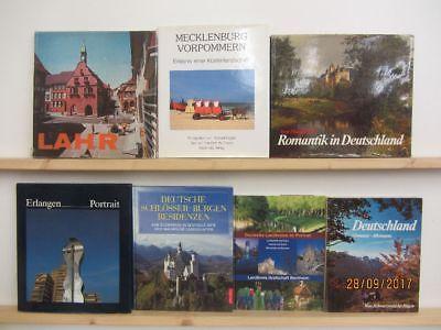 23 Bücher Bildbände Deutschland deutsche Bundesländer deutsche Städte Paket 1