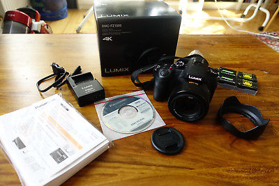 Panasonic LUMIX DMC-FZ1000 20,1 MP Digitalkamera - Schwarz - in OVP