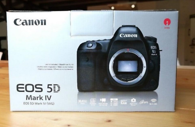 Canon EOS 5D Mark IV 30.4MP Digitalkamera - Schwarz (Gehäuse)