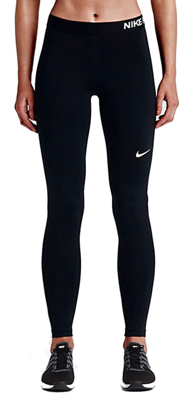 Nike Damen Fitnesshose Trainingshose Pro COOL TIGHT schwarz