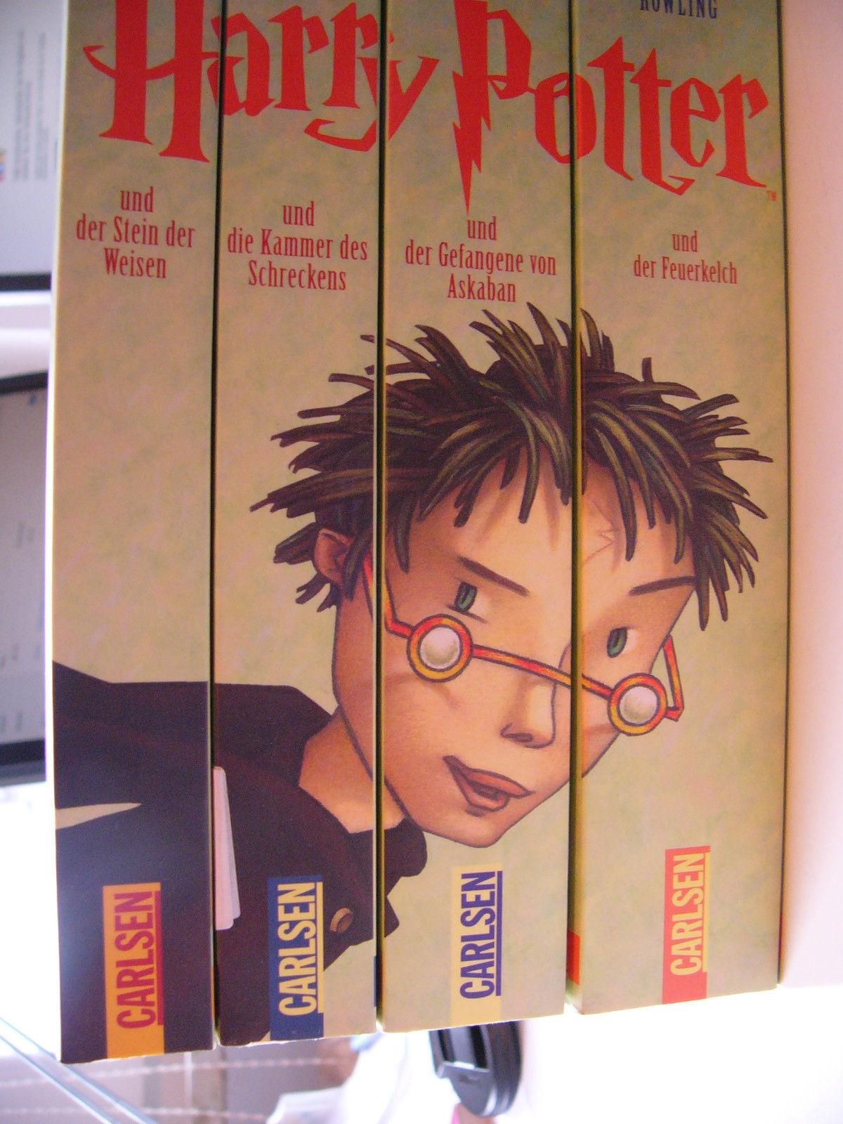 Harry Potter 1 - 4 neuwertig UNGELESEN Joanne K. Rowling 4 Bücher = 1 Preis