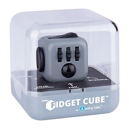 Fidget Cube 34552 Original Cube von Antsy Labs, Spielzeug, Graphite