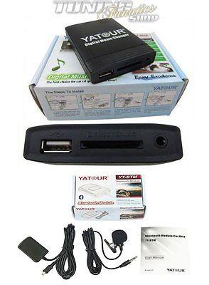 Bluetooth USB SD MP3 AUX CD Wechsler BMW Radio Professional Business 17Pin Rund