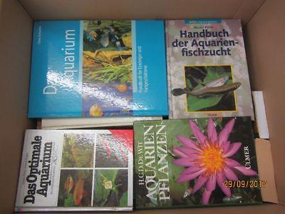 46 Bücher Aquaristik Zierfische Aquarienpflanzen Aquarium  Aquarienfischzucht