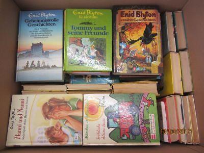 Enid Blyton 65 Bücher Kinderromane Jugendromane 5 Freunde Hanni und Nanni u.a.