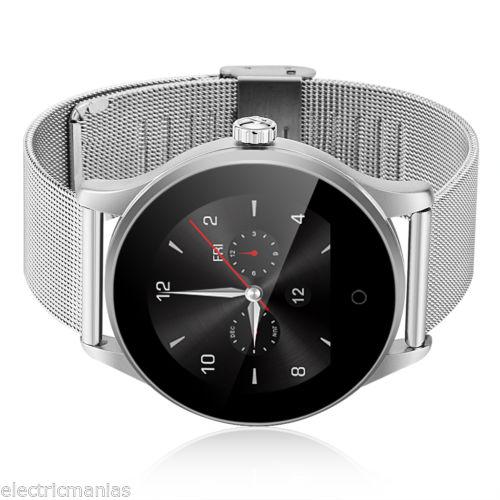 Bluetooth Smart Watch Sports Armbanduhr Pulsuhr Fitness Tracker Schrittzähler DE
