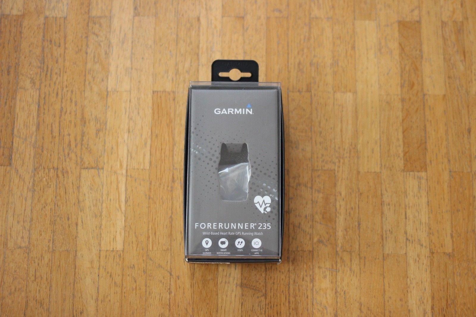 Garmin - Forerunner 235 - Sportuhr - Bluetooth - GPS - Schwarz-Grau