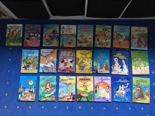 Riesige Disney-Bücher-Sammlung 22 Bücher