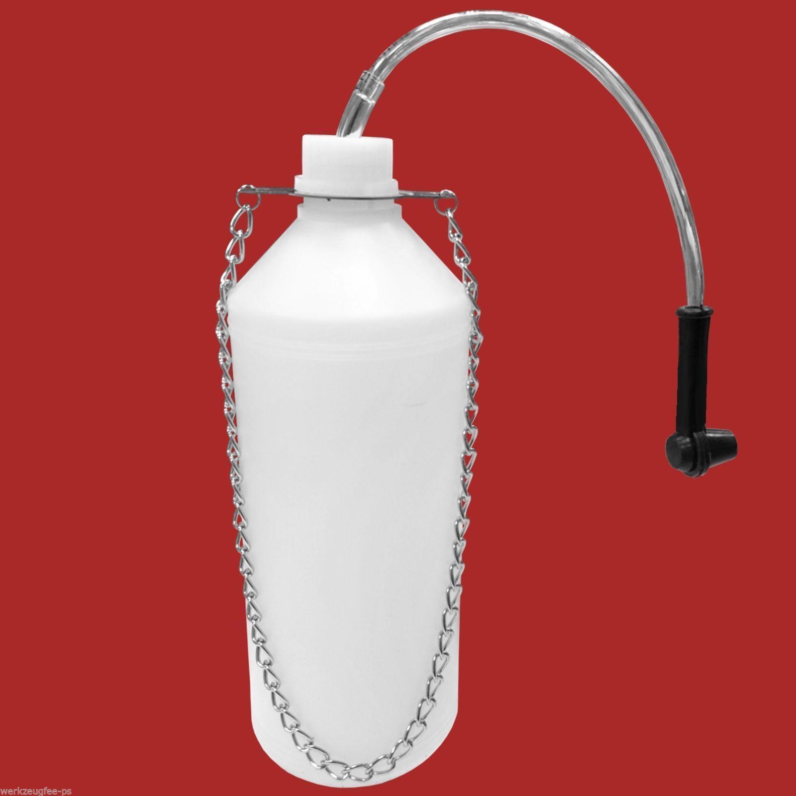 1 Liter Bremsenentlüfter Flasche KFZ Bremsen Entlüftungsgerät Bremse entlüften