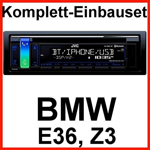 Komplett-Set BMW 3er E36 Z3 JVC KD-R881BT USB Autoradio CD Bluetooth MP3 WMA