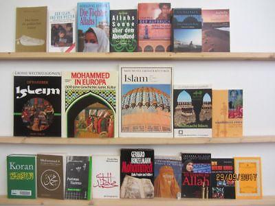 39 Bücher Islam Mohamed Islamismus Koran Allah Islamische Kulturgeschichte