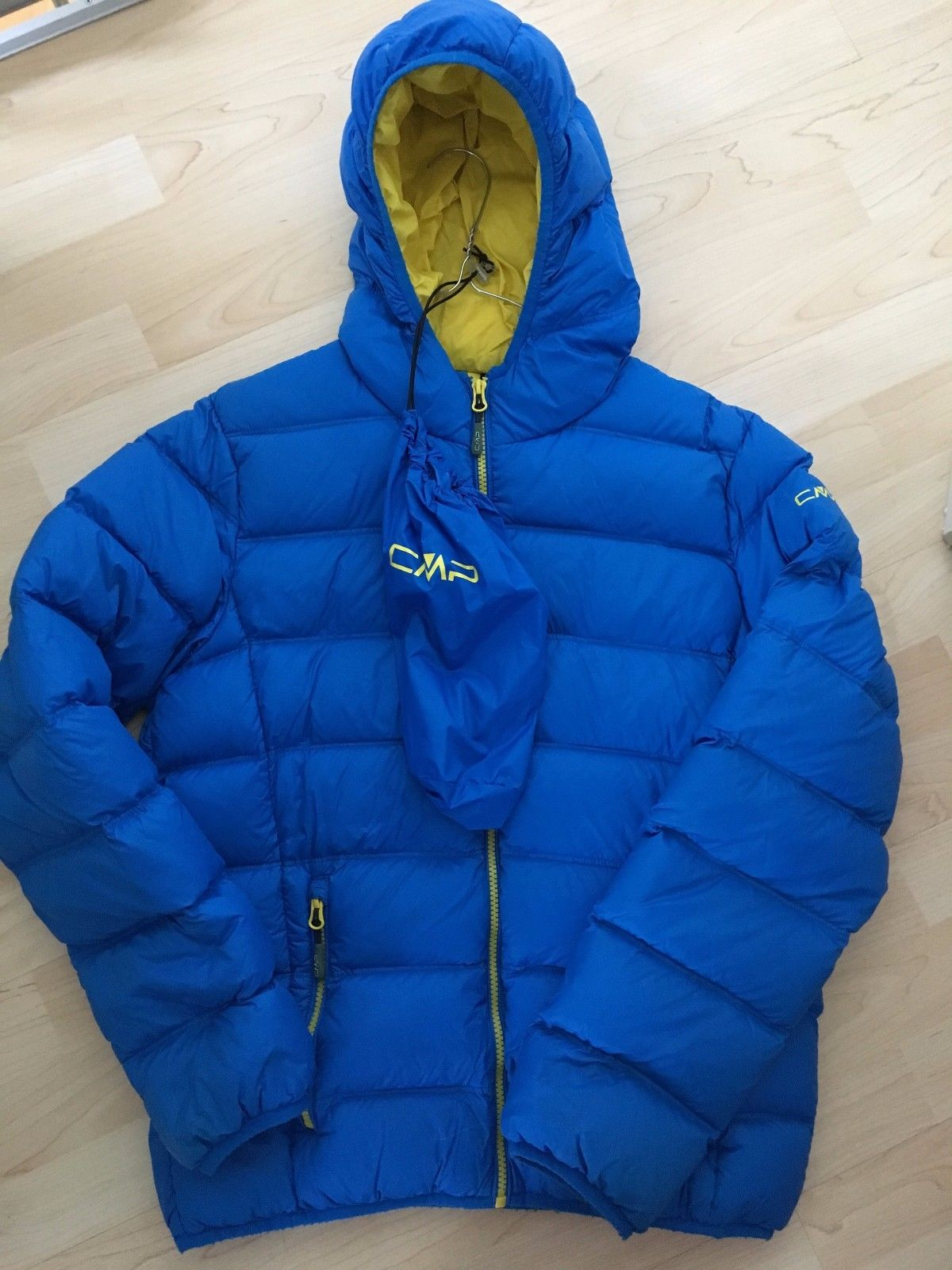 CMP Daunenjacke Gr.176 Winter royalblau superleicht