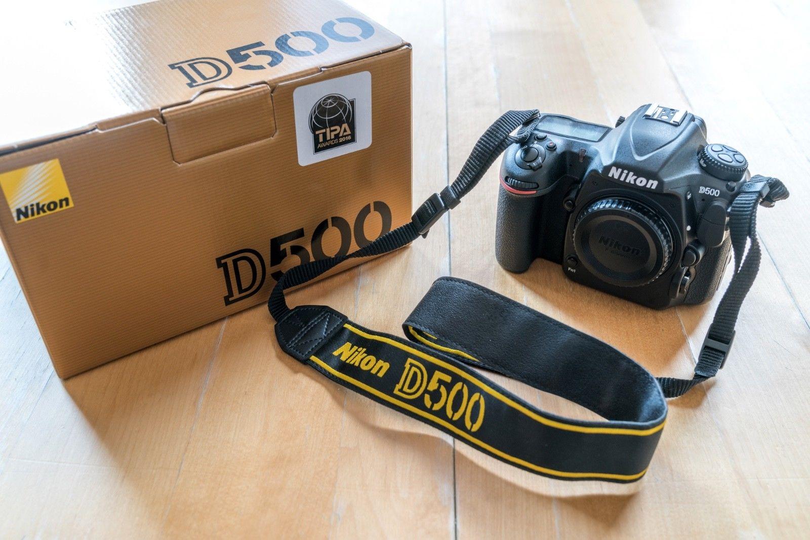 Nikon D D500 20.9MP Digitalkamera - Schwarz (Nur Gehäuse) (100th Anniversary...