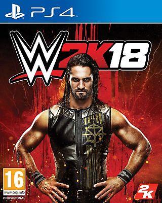 WWE 2K18 PS4 ***PRE-ORDER ITEM*** Release Date: 17/10/17