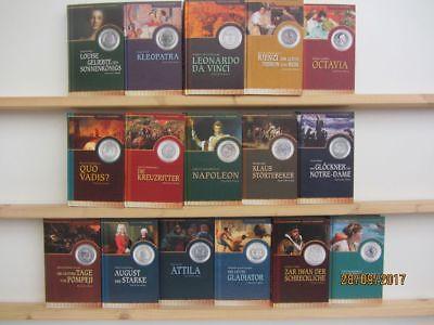 16  Bücher Romane Abenteuer Geschichte historische Romane  Top Titel Bestseller