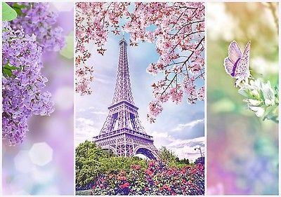 Romantic Puzzle Pappe Trefl 1000 Teile Frühling in Paris Frankreich - NEU 10409