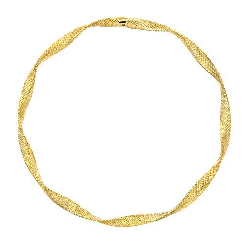 Citerna 9 Karat (375) Gelbgold Diamantschliff Twist 65 mm