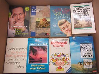 120 Bücher Taschenbücher verschiedene Verlage